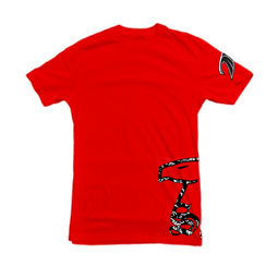 Eagle Bandito t-shirt in red