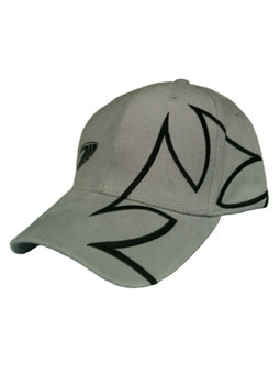 Iron Cross Hat with large iron cross in gray
