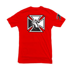 OG Iron Cross t-shirt in red