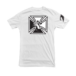OG Iron Cross t-shirt in white