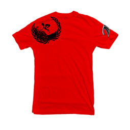 OG Wreath t-shirt in red